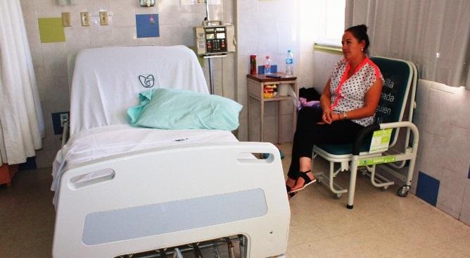 Recibe Hospital General de Zona número 11 del IMSS colchones, sillas y camas
